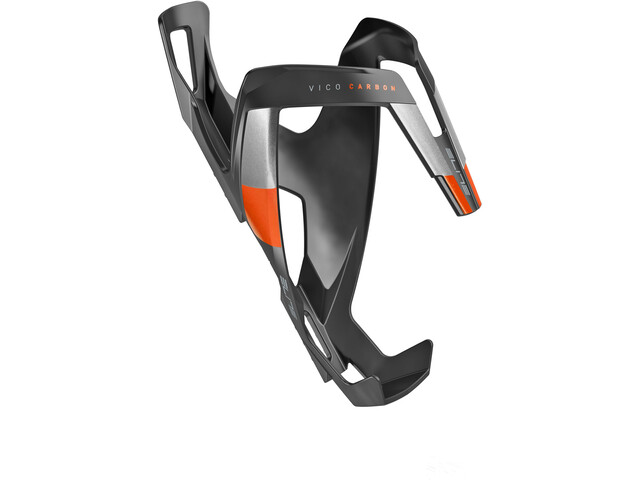 Elite Vico Flaskeholder Carbon orange/sort